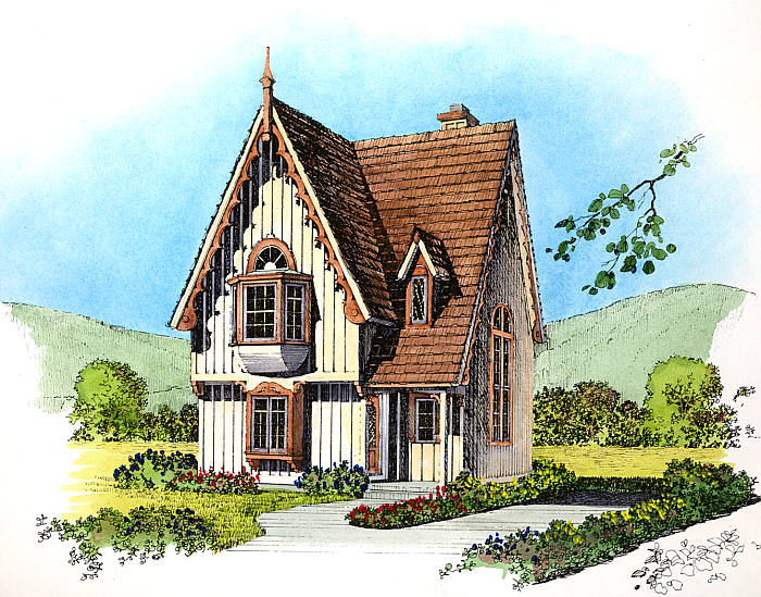 into the woods › the house and the master plan…