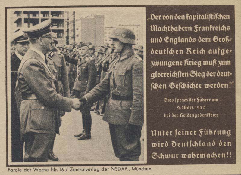 nazi and british propaganda during wwii Different media forms used for british and germany propaganda during wwii- interpreting media britain and germany one of the most dominant side in the world during the wwii these two countries had a very powerful army.