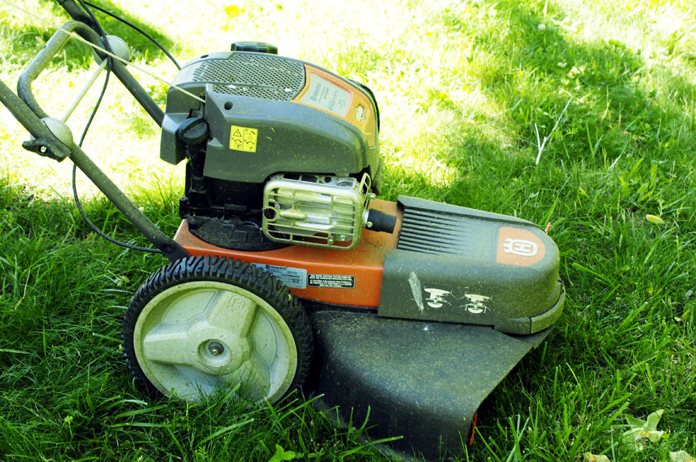 Into The Woods Review Husqvarna Weed Eater On Wheels